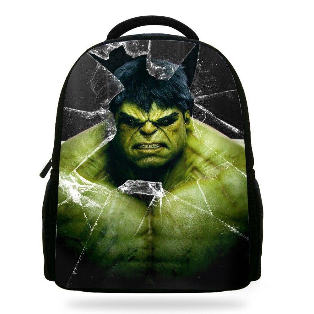 14 Zoll Populären Charakter Buch Taschen Für Kinder Die Avengers Hulk Rucksack Für Kinder Schule Jungen Mädchen Duftendes (In) Aroma