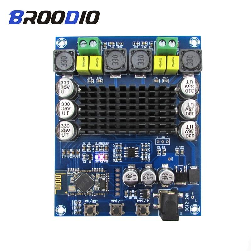 DC12-24V TPA3116 Bluetooth 4.2 Digital Amplifier Board 50W*2 Dual Channel 2.0