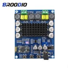 цена на TPA3116D2 Bluetooth Amplifier Board Dual Channel 2*120W Digital Audio Amplifiers DC12-24V Amplificador For DIY Wireless Speaker
