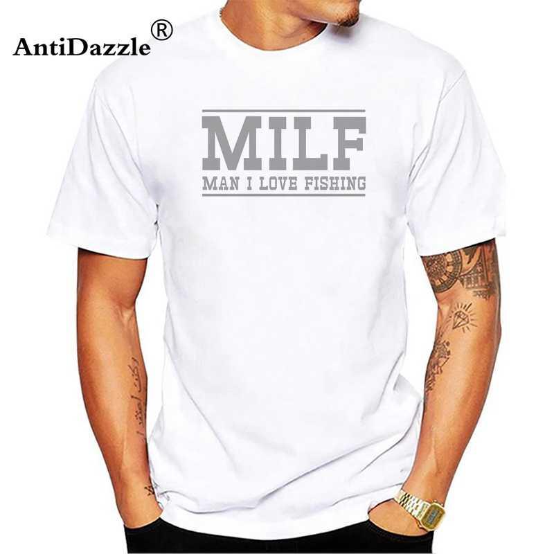 MILF Man I Love Farming T Shirt Men Casual Cotton Short Sleeve Funny Mans  Farm Farmer T-shirt