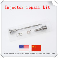 Common rail 0445110186 injector repair kit, with DLLA156 P1368 injector, F00VC1033 valve assembly, FOOVC99002 ball seat.