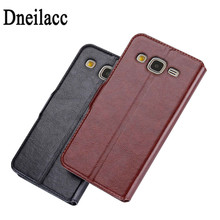 Dneilacc Cover For Samsung J3 Case, Flip PU Leather Cover Luxury Case With Diamond