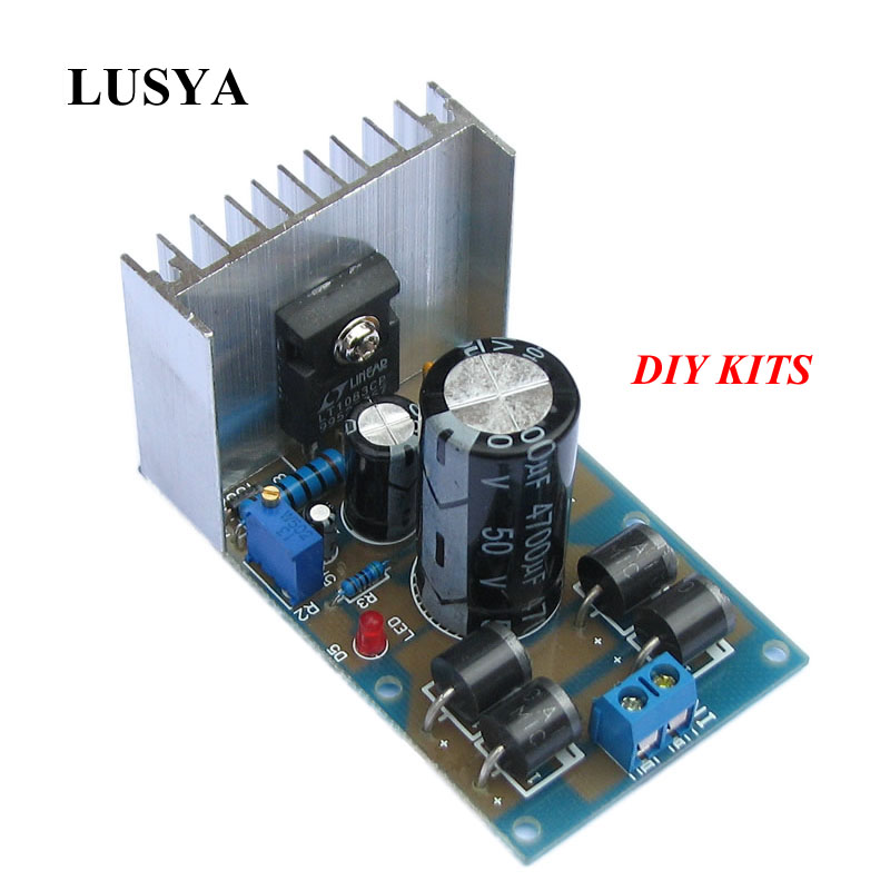 Lusya DIY Kits LT1083cp High-Power Adjustable Linear Regulated <font><b>DC</b></font> Power Supply PCB Board 2.5-<font><b>12</b></font>-24-<font><b>30V</b></font> pcb G3-010 image