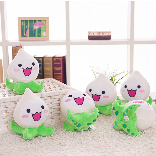 20cm Overwatches Plush Toys Onion Small Squid Stuffed Plush Doll Action Figure Soft Kids Toy Game OverWatches OW Pachimari Stuff