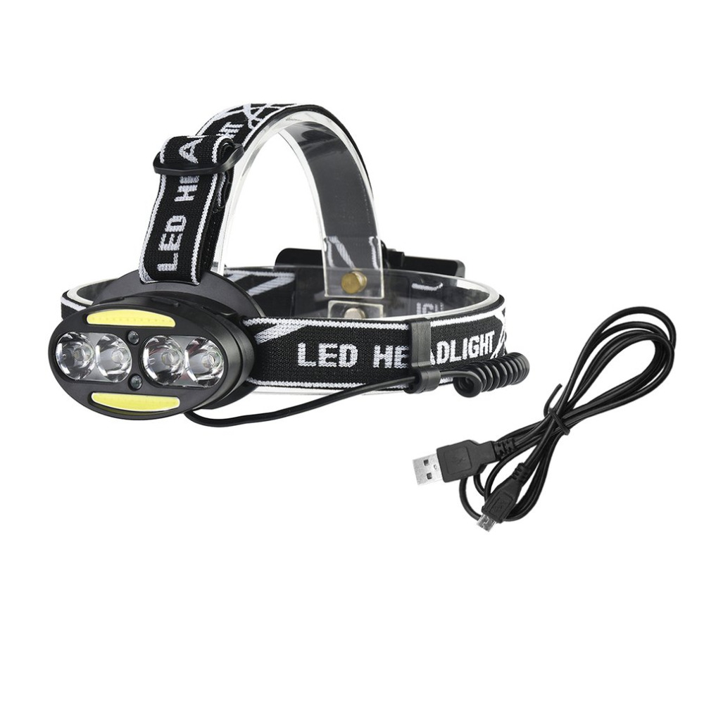 8LED Headlamp Super Bright Cycling Headlight USB Charging Dual Switch T6+LED Zoomable Head Light Torch for Hunting Hiking 2504A p80 panasonic super high cost complete air cutter torches torch head body straigh machine arc starting 12foot