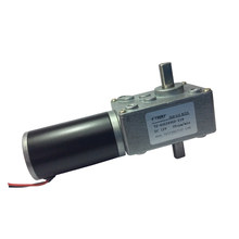 40GZ495D Double Shaft DC Brush Gear Motor 12V With Reduction Box 35/55/160 RPM Electric DC Worm Gear Reducer Motor For Industry(China)