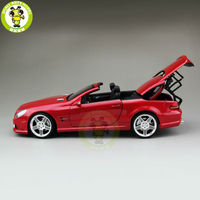 1/18 SL 63 AMG RMZ Diecast Model Car TOYs for kids collection hobby Red