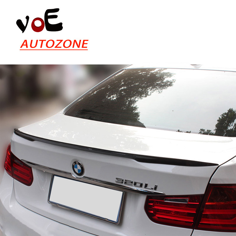 2012-2016 Carbon Fiber F30 Performance Style Rear Wing Lip Spoiler for BMW F30 3 Series yandex w205 amg style carbon fiber rear spoiler for benz w205 c200 c250 c300 c350 4door 2015 2016 2017