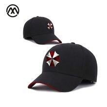 f703f245b3a01 New Products Resident Evil Umbrella Company Hat Baseball Cap Alternative  Clothing Zombie RPG Outdoor Shade Sports Hats fashion