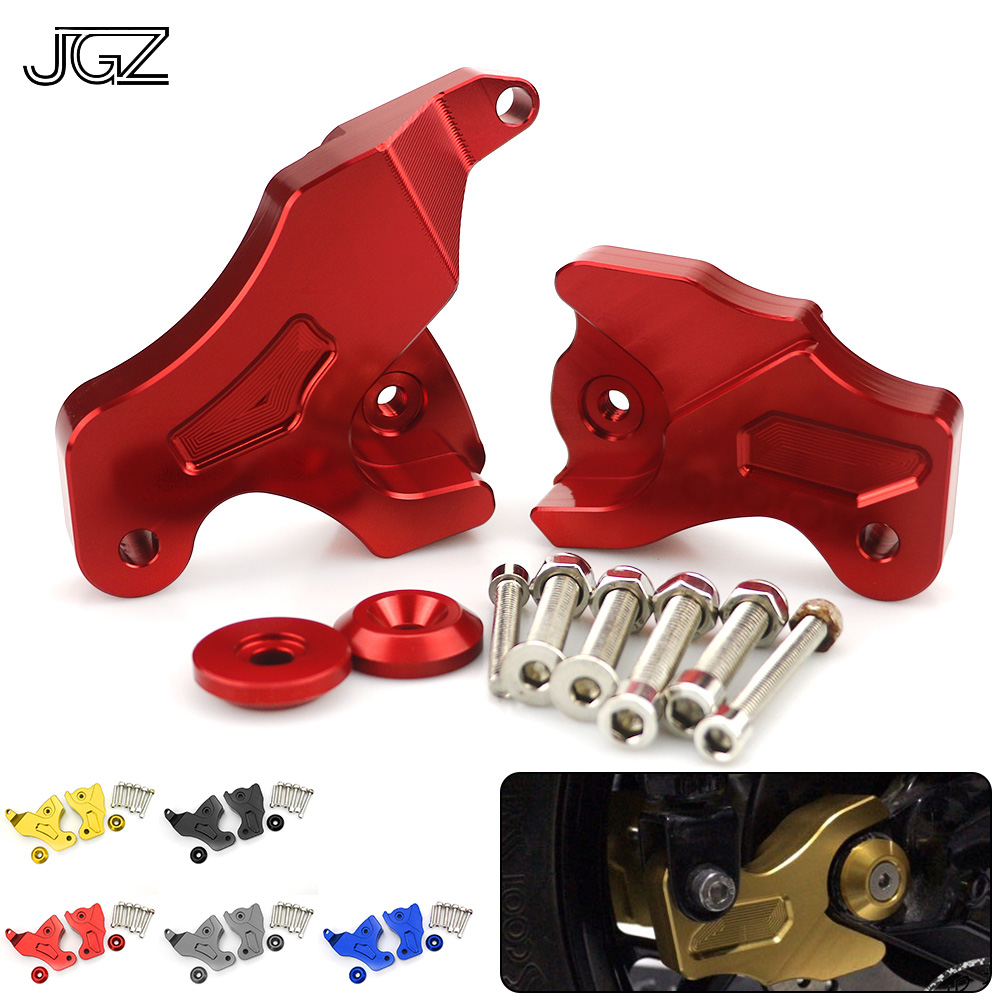 Motorcycle Accessories CNC Aluminum Shock Absorber Riser Pad Rear Suspension Bracket Cover For YAMAHA XMAX 250 300 2017 2018 Red стоимость