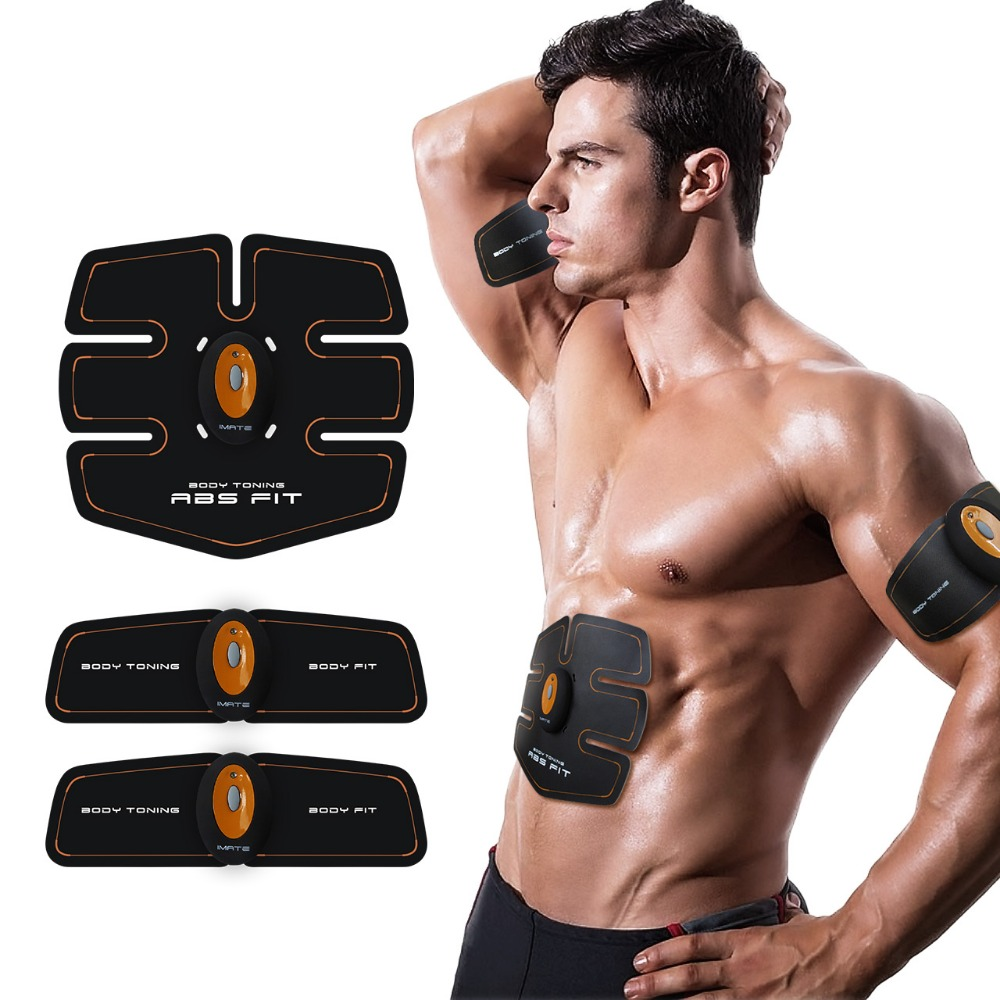 New Wireless smart Multi-Function EMS abdominal training Device Hous abdominal muscles Loss Slimming Massager abs Fit - Abdomen upgrade smart shaping muscle device abs slimming patch exerciser fit ems abdominal muscles intensive training slimming massager