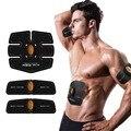 Novo Sem Fio inteligente de Multi-Função EMS treinamento abdominal Dispositivo Hous Perda Slimming Massager abs Fit-Abdômen músculos abdominais
