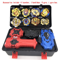 Bayblades Burst Set Toys Beyblades Arena Bayblade Metal Fusion Fighting Gyro 4D With Launcher Spinning Top Bey Blade Blades Toys