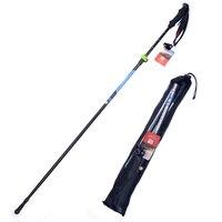 2 шт. ультра-легкий EVA ручка 4 секции телескопические трости треккинг полюс альпеншток для наружного