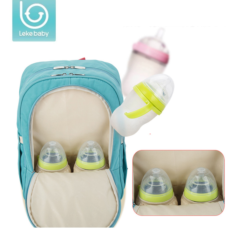 Lekebaby Multifunction Diaper Bag travel Backpack Mother Care Baby Stroller Hobos Bags Nappy Bag for Mom Ornaments baby care baby dining lunch feeding booster seat maternity baby diaper nappy bag multifunction fashion hobos messenger bags for baby care