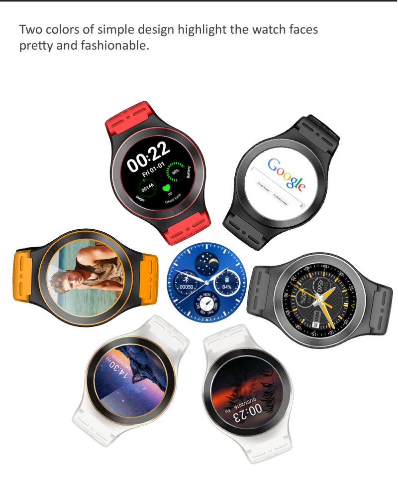 ZGPAX S99 3G Smart Watch Android 5.1 2.0MP Cam GPS WiFi Pedometer Heart Rate 3G Smartwatch PK KW88 No.1 D5 X3 Plus Watches цена