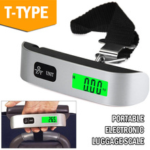 Digital Weight Scale Hand-Held Accessories Durable Luggage Scale Travel LCD Portable Weight Scale Drop Shipping