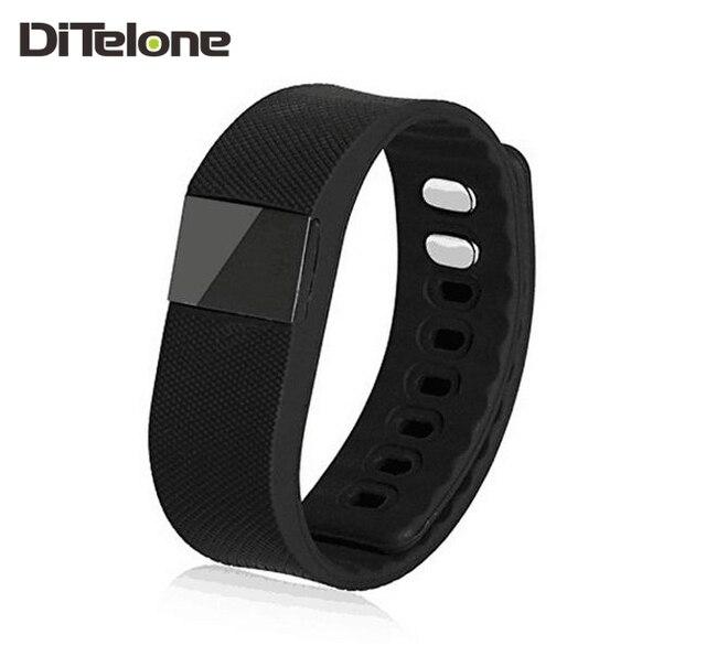 DiTelone TW64 Smart Bracelet Bluetooth Smart Wristbands Smart Watch Waterproof Passometer & Sleep Tracker For Android IOS