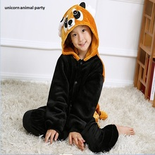 Boys and girls Halloween Kigurumi Adult Onesie Raccoon Pajamas Coon Sleepsuit Cosplay Pyjamas Unisex Anime Sleepwear Costume