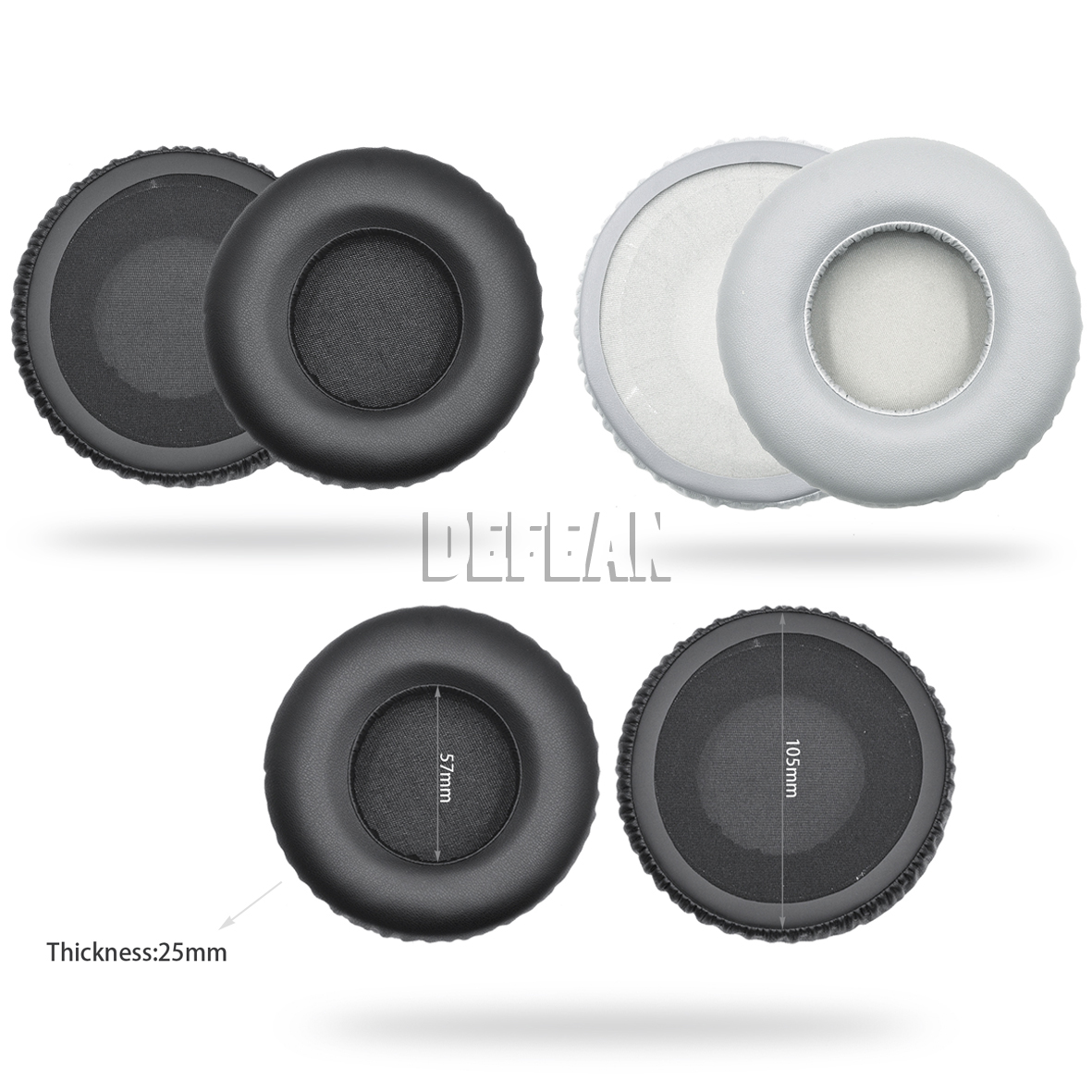 Replace 105mm Protein ear pads cover for Akg k550 k551 k553 k 550 551 headphones