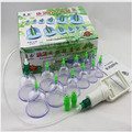 Health care equipment Kang Nian 12 cans of cupping therapy Magnetic therapy bubble extraction cup  ping jar type manually  T398
