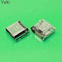 YuXi 50pcs Lot Oem New Micro USB Connector Charging Port For Samsung Tab 3 7 0