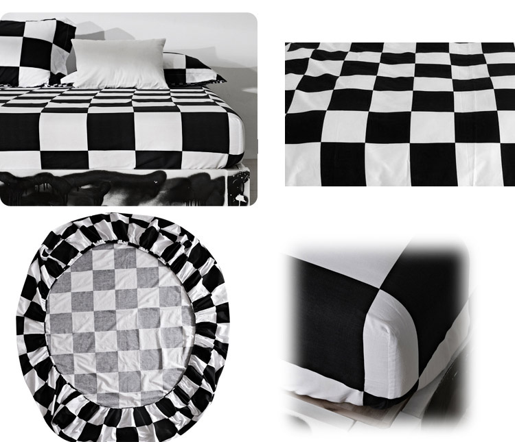 Fitted Sheet 1Pcs Mattress Cover Printing Bedding Linens Bed Sheet With Elastic Band Double Queen Size zebra Bedsheet 160X200