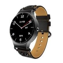 Купить онлайн 2018 KW98 Смарт-часы Android 5.1 3G WI-FI GPS Часы SmartWatch для IOS Android PK мужчины жизнь водонепроницаемый телефон smart часы