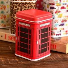 Hot New Fashion Vintage Metal Candy Trinket Tin Jewelry Iron Tea Coin Storage Square Box Case