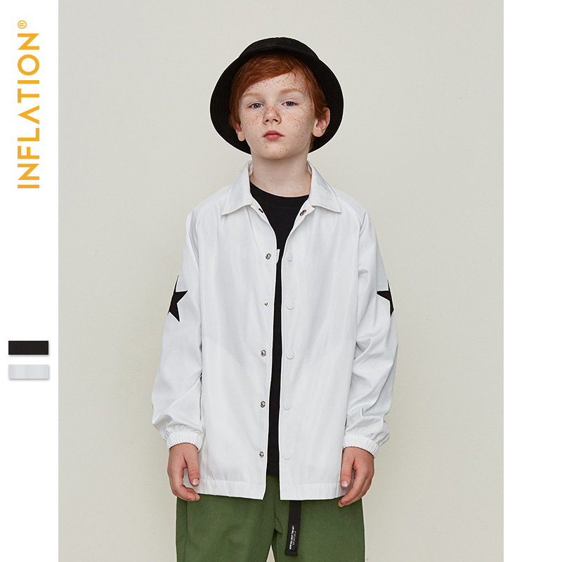2019 Spring Boys Girls Tops Children jacket Outerwear Sport Cap zipper Coats Kids Clothes Sunscreen Thin section Boys Jackets