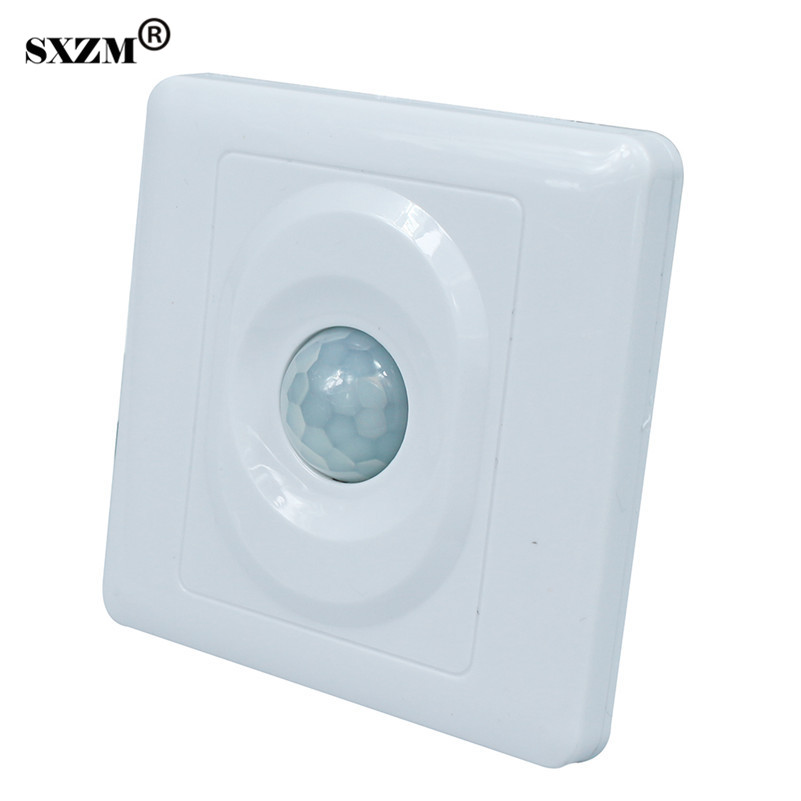 SXZM PIR Infrared Motion Sensor Switch Human Body Induction Save Energy Motion Automatic LED Module Light Sensing Switch energy saving 7w led ceiling downlight with pir human body motion sensor automatical switch