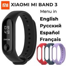 2018 New Original Xiaomi Mi Band 3 Smart Bracelet, 0.78 inch OLED Instant Message Caller ID Weather Forecate Mi Band 3