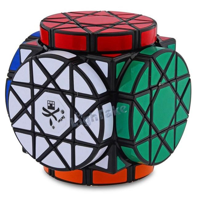 Marca Nueva Dayan Rueda de Sabiduría Revirado Rotación Cubo Mágico Speed Puzzle Cubos de Juguetes para el cabrito