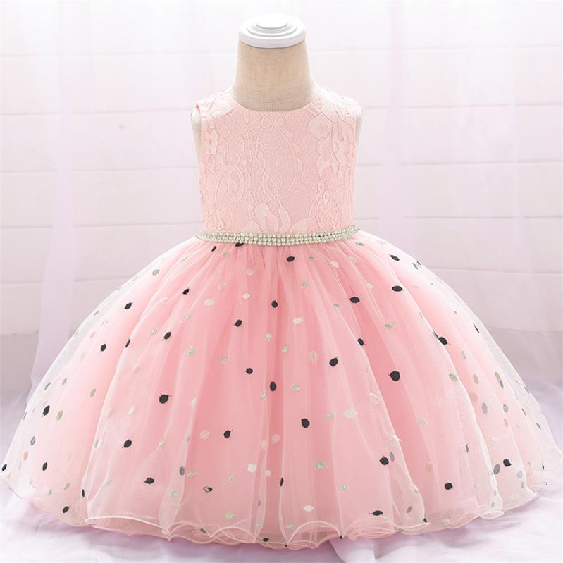 2020 Child Clothes 1 2 Year Tutu Newborn 1st Birthday Dress For Baby Girl Frocks Baptism Dress Flower Dress Party And Wedding
