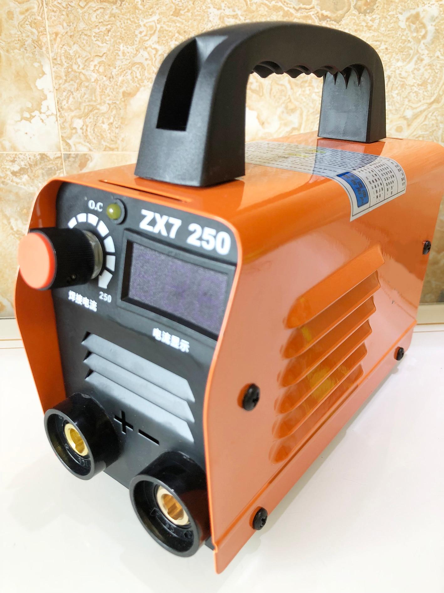 ZX7-250 мини сварочный аппарат дуговой сварочный аппарат 220 В MMA сварочный инвертор Полуавтоматическое устройство