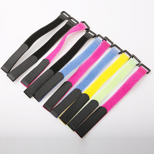 50pcs/lot Reusable Cable Ties Straps with Plastic button Strip Nylon Strap with Buckle 20*300mm Hook