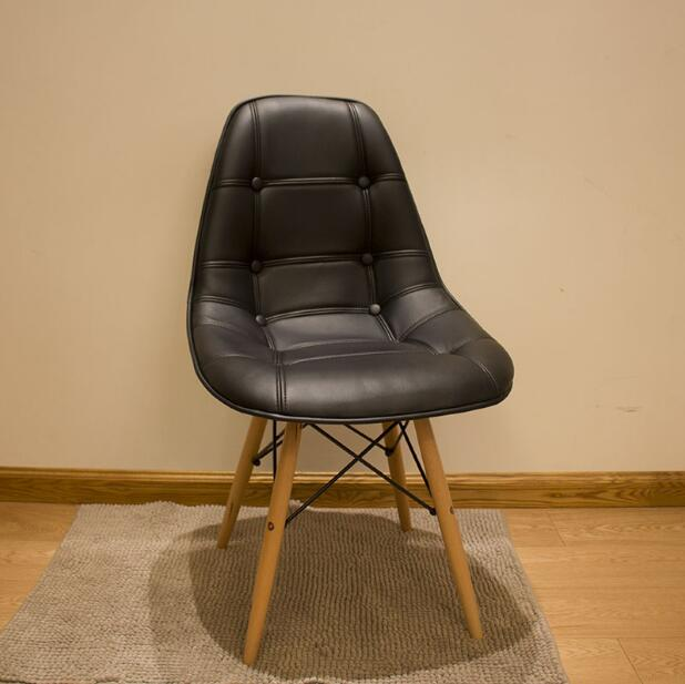 Latest Dining Chairs: YINGYI New Design Modern PU Leather Dining Chair Without