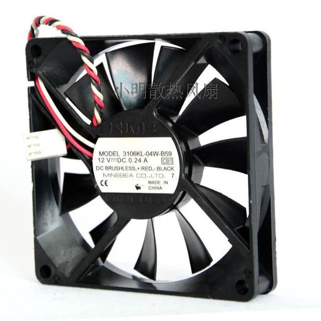 Entrega gratuita. 8015 12 v 0.24 A 3106 kl-04 w-B59 C04 three-wire projetor ventilador de refrigeração do dispositivo