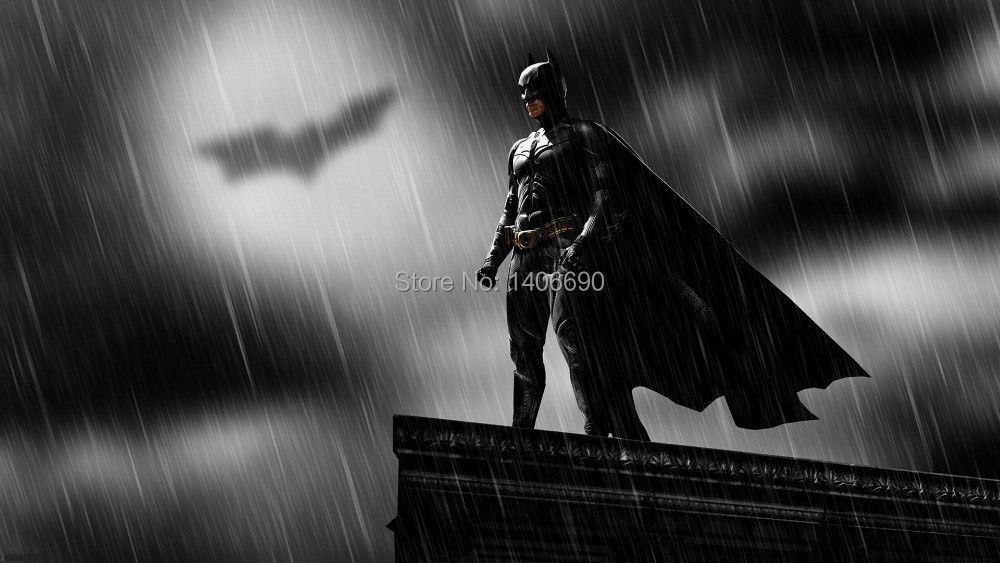 2015 TOP COOL ART home rock Decor ART- Batman art The Dark Knight Rises--48 inches OIL painting-special offer-free shipping cost