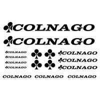 Etiqueta engomada del VINILO de la BICICLETA personalizada para la decoración de COLNAGO, PEGATINAS de PEGATINAS VINILO LAMINA BICICLETA para COLNAGO