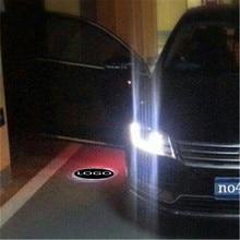 JingXiangFeng 2 pcs 5W Case For tuscani For dacia Car Door Welcome Light Car LED Laser Logo Ghost Shadow Light Warning lights