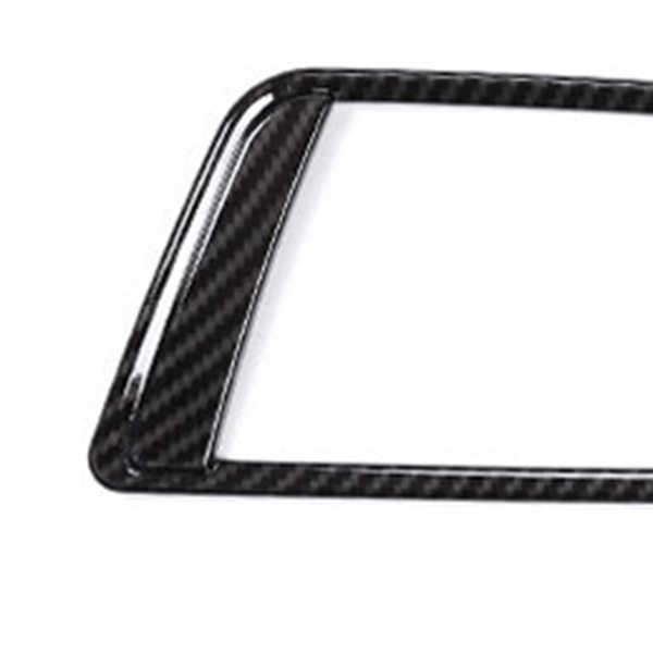 2 Buah Serat Karbon untuk BMW Seri 4 F30 320 dari 316 GT 328 ABS Depan Interior Sid Air AC Ventilasi Penyesuaian
