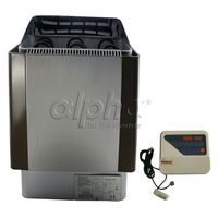 Free shipping 8KW380 413V 50HZ SAUNA HEATER STOVE for HOME BATH SHOWER SPA and Stainless Steel Housing