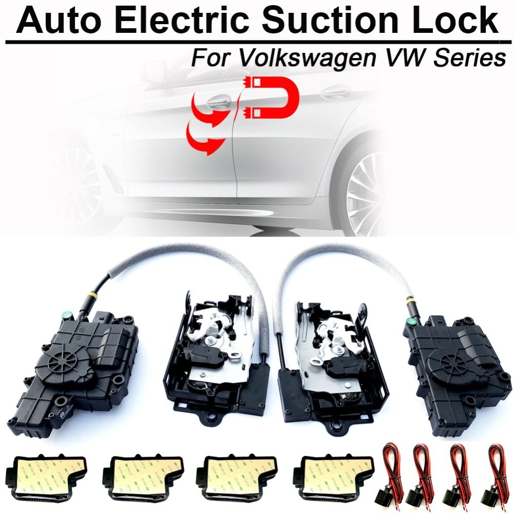 Soft close automatic system for doors Car Electric Suction Door Lock for  Audi A5CA A5CO A6 A6AR A6Q A7