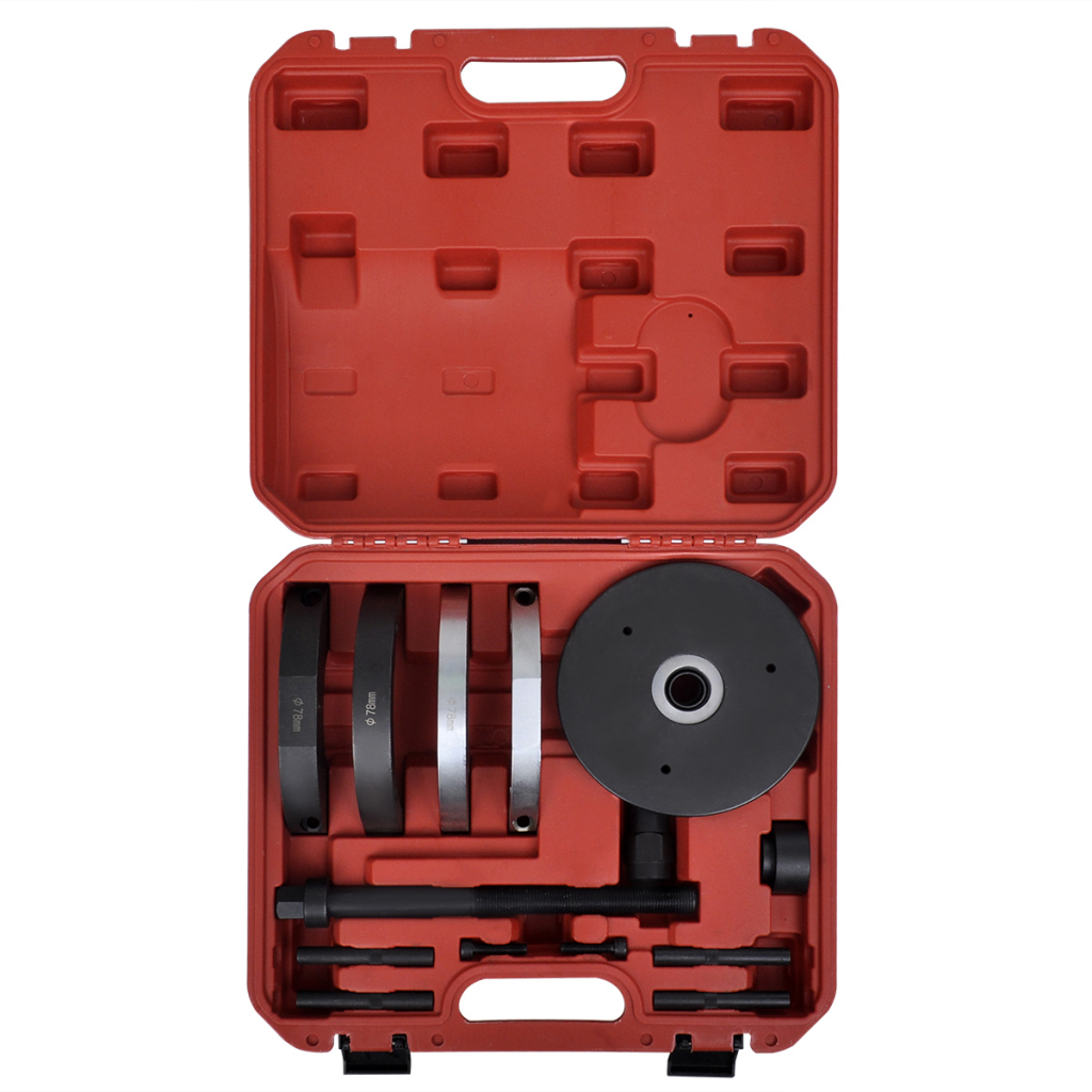 KKMOON Front Wheel Hub Bearing Installation Removal Tool Kit 78 mm FOR Ford, Mazda, Volvo стоимость