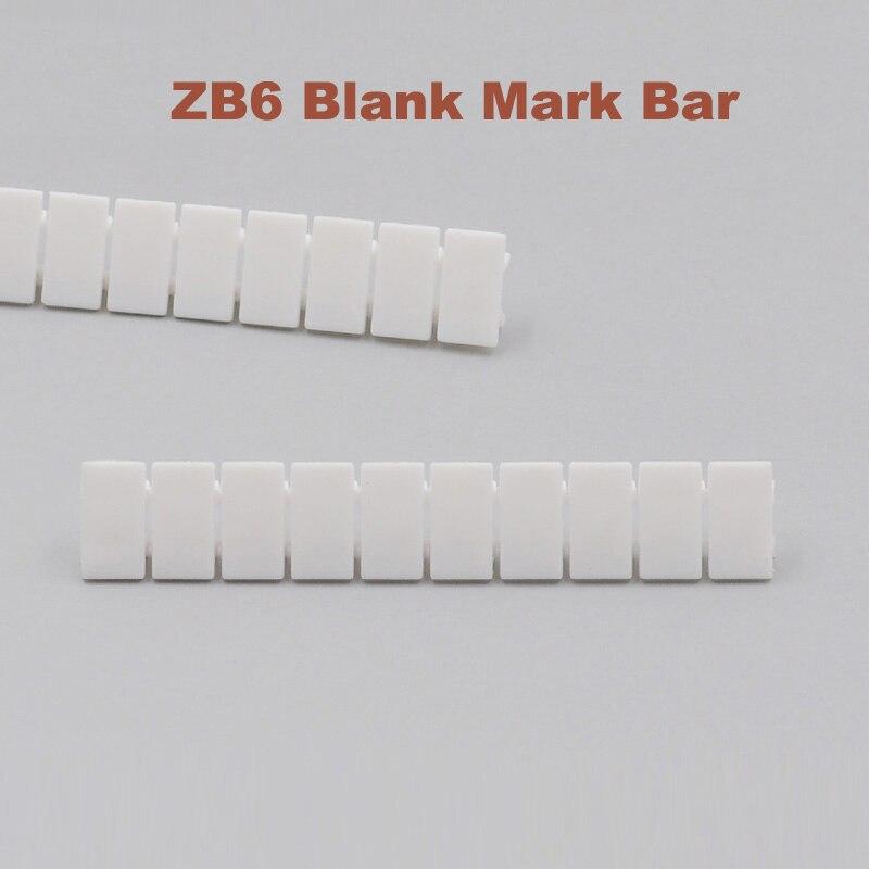 50 pz ZB6 in bianco marcatore strisce per UK2.5B UK5N UDK4 UKK5 UK5-TWIN Su Guida Din Morsettiera Mark bar morsettiera ZB-6 terminali di laboratorio50 pz ZB6 in bianco marcatore strisce per UK2.5B UK5N UDK4 UKK5 UK5-TWIN Su Guida Din Morsettiera Mark bar morsettiera ZB-6 terminali di laboratorio