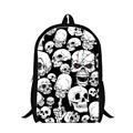 Dispalang Skull 3D Print Mens Backpack Fashion Cool Children School Bags Hip hop Style Boy Double Shoulder Backpack For Teenager