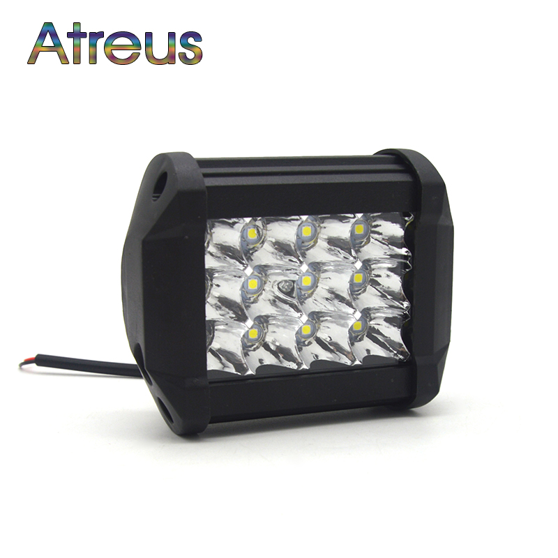 Atreus New 4Inch 36W Car LED Work Light Bar DRL Spot Fog Lamp for Jeep Renegade Wrangler Grand Cherokee Compass SUV ATV Offroad