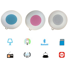 M7 Touch LED Light Hanging Lamp Smart Wireless Bluetooth Speaker Colorful outdoor traval portable Music Player