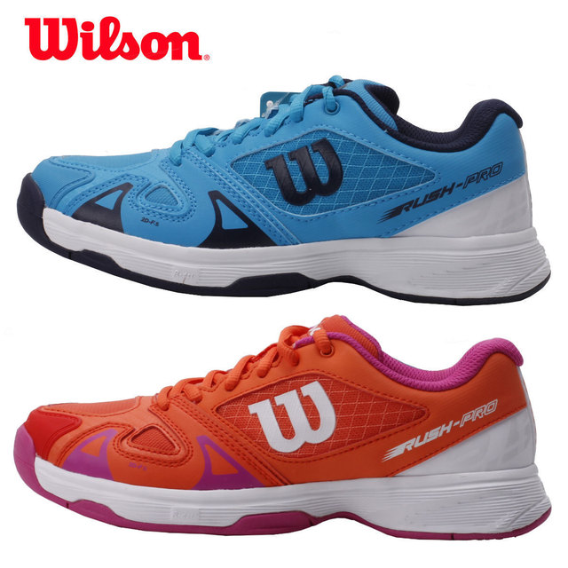 timeless design 8c765 1f08b Original Wilson tennis Shoes for children kids women Breathable Tennis  Sneakers Lace-up Sport sneakers